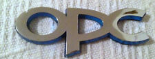 OPC LINE VAUXHALL OPEL CHROME DOOR TAILGATE BADGE REAR BOOT CORSA ASTRA ZAFIRA