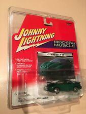 Johnny Lightning 98-92 GREEN Pontiac Firebird Trans Am WS6 Die-Cast 1:64 JL NEW