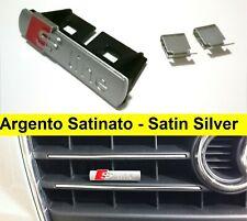 Stemma S-Line Satinato griglia anteriore logo fregio emblema Audi a3 a4 q3 a1 q5