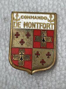 Insigne Militaire A.Augis Commando De Montfort