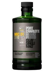 Bruichladdich Port Charlotte MRC:01 2010 Islay Single Malt Scotch Whisky 700mL
