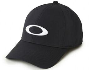 Oakley Men's Force Cap - Jet Black, L/XL A Flex Stretch Fit - Excellent Quality
