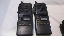 Lot of 2 Icom IC-F4S-4 Two Way Radios