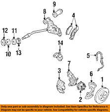 GM OEM Brake-Front-Brake Pads 19287113
