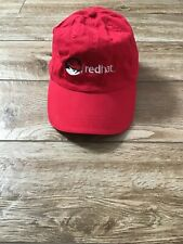 RedHat Logo Linux Software Microsoft Hat New without Tags