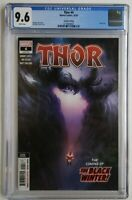 THOR #4 2ND PRINT CGC 9.6 1ST APP BLACK WINTER CAMEO ✅ DONNY CATES KNULL THANOS