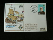 1973 Cover: 300th Anniversary Battle of Texel 1673, Ships, Navy
