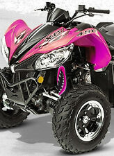 ATV,SHOCK COVER,PROTECTEUR D'AMORTISSEUR,VTT,ARCTIC CAT , MONSTER PINK