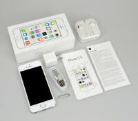 """Apple iPhone 5S 16 32 64GB GSM """"Factory Unlocked"""" Smartphone Gold Gray Silver"""