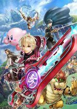 Rare Limited Club Nintendo Shulk for Super Smash Bros 3DS / Wii U Poster