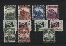 Deutsches Reich 580-583 584-585 x+y 586-587 gestempelt (B05975)