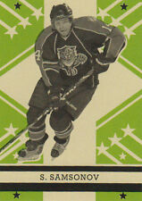 11-12 O-Pee-Chee Retro BLANK BACK Parallel Sergei SAMSONOV #481 - Panthers