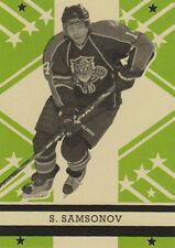 11-12 O-Pee-Chee Retro BLANK BACK Parallel Sergei SAMSONOV #481 - Panthers