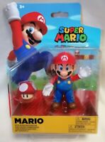 SUPER MARIO BROS - *New Unopened* Mario With Super Mushroom Jakks 2020 Nintendo