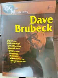 Tablatura per piano Dave Brubeck
