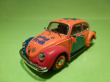 UNIVERSAL HOBBIES 1:43 VW VOLKSWAGEN KAFER BEETLE - FLOWER POWER - RARE SELTEN