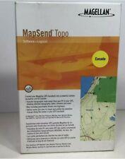 Magellan MapSend Topo Software GPS Navigation - CANADA (New in Box)