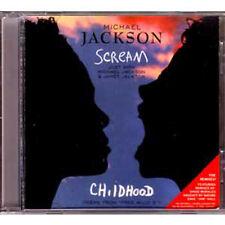 MAXI CD Michael JACKSON & Janet Scream The remixes RARE