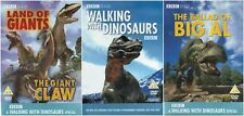 WALKING WITH DINOSAURS COMPLETE DOCUMENTARIES SPECIAL COLLECTION NEW 4 DVD R4