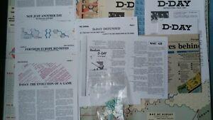 AVALON HILL D-DAY + BONUS!! SPI GDW RELATED