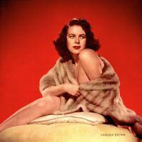 Pinup Lithograph Vanessa Brown 1953 Engstead Cheesecake Promo Photo Original VTG