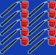 10 Red Pocket Chalkers-Pocket Chalk Holder/Chalker for Pool/Billiards Cue Chalk