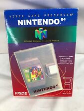 Nintendo N64 Game Storage Cases (3 Pak) Pride Official OEM