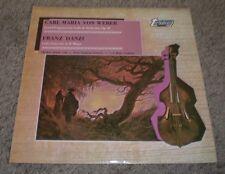 Weber Grand Potpourri Danzi Cello Concerto Blees Bunte~1970 UK Import Classical