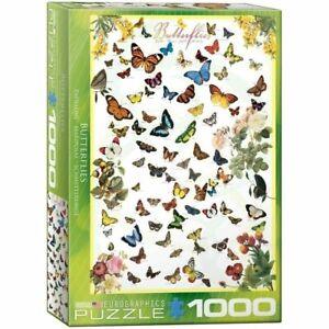 Eurographics Puzzle 1000 Piece Jigsaw - Butterflies EG60000077
