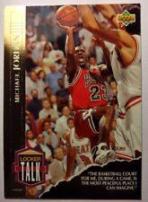 1993-94 UPPER DECK LOCKER TALK #LT1: MICHAEL JORDAN NICE Gold Insert CARD