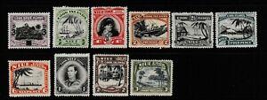 Niue:1932/40:Various Designs.10 Stamps.Mint.Cat £60+