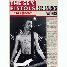 Sex Pistols Chaos Bob Gruen's Works Japan Photo Book John Lydon Sid Vicious