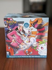 Pokemon Adventures Diamond and Pearl Manga Box Set Vol 1 2 3 4 5 6 7 8 9 10 11