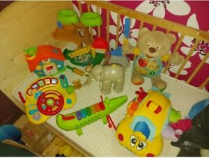 Kinder Motorik Center Kreatives Baby Spielzeug  Lernspielzeug Bär Auto Tier Haus