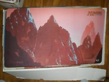 MTG Magic Individual Play Mat! John Avon Signed Unhinged Mountain! NEW
