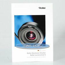 Original Rollei Prospekt - Electronic Shutter / Lens Control S