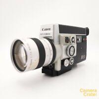 Canon Auto Zoom 814 Electronic Super 8 Cine Film Movie Camera - Working #S8-3024