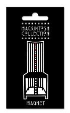 Charles Rennie Mackintosh Dossier Haut Chaise emblématique Design Réfrigérateur Home Decor Aimant