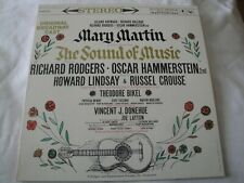 THE SOUND OF MUSIC ORIGINAL BROADWAY CAST VINYL LP ALBUM COLUMBIA MASTERWORKS EX