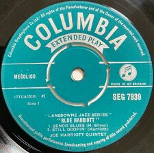 "Joe Harriott Quintet - Blue Harriott EP UK 7"" British Jazz 1959 NM"