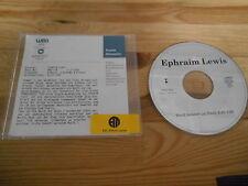 CD POP Ephraim Lewis-World between us (1) canzone PROMO Elektra + presskit CD Only