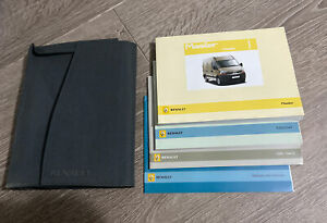 RENAULT MASTER OWNERS MANUAL HANDBOOK & FOLDER WALLET BOOK PACK Mk2 FACELIFT