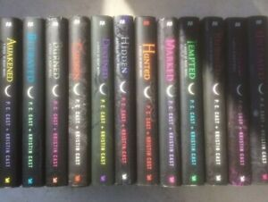House of Night lot complete series 1-12 HB set PC Cast Vampire Revealed Redeemed