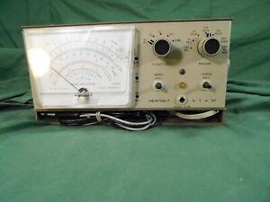 Vintage Electronics HEATHKIT VTVM Model IM-28 VACUUM TUBE VOLTMETER Instrument