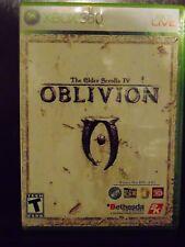 The Elder Scrolls IV: Oblivion (Microsoft Xbox 360, 2006) with Map!