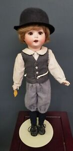 """ANTIQUE GERMAN PM MENGERSGEREUTH 23 S.t. BISQUE REAL SEELEY BODY DOLL 18"""""""