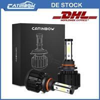 2X 200W 9005,HB3,9140,9145 LED SCHEINWERFER Birnen HEADLIGHT LEUCHTE Lampe 6000K