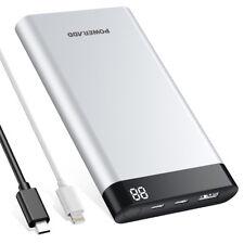 Poweradd Virgo II 10000mAh Power Bank Type -C Portable Charger External Battery
