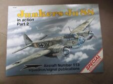 Squadron Signal Armor No. 113 Junkers JU88 Part 2 by B Filley 1991 Military book