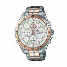 EFR-547SG-7A Gold Edifice Casio Men's Watches Analog 100m Steel Band New